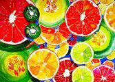 Bricka Frukter
