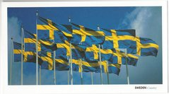 Stort vykort Sverige