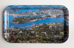 Bricka Stockholm flygbild