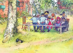 Bordstablett Carl Larsson