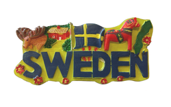 3D magnet Sweden Collage