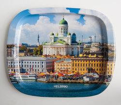Plåtbricka Helsinki