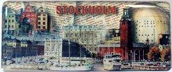 Epoxymagnet avlång, Stockholmscollage
