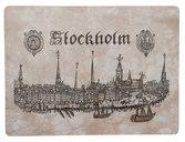 Bordstablett Stockholmsvy