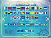 Bricka Signalflaggor
