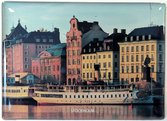 Epoxymagnet, Skeppsbron båtar