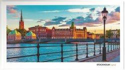 Stort vykort Stockholm