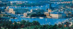 Bokmärke Stockholmsvy