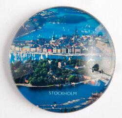 Glasmagnet, Stockholm flygfoto