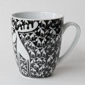 Keramikmugg Älgar