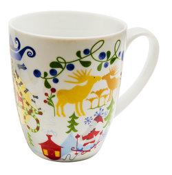 Keramikmugg Sverigeteckning CA